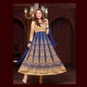 Blue Salwar