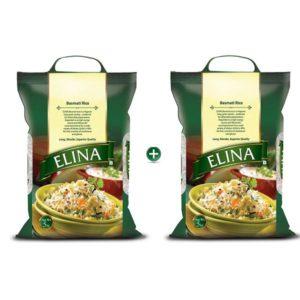 Elina Basmati Rice 5kg Buy One Get One Free