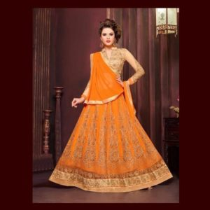 Orange Salwar