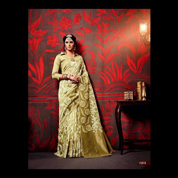 Gold Saree
