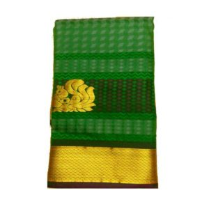 Work Green Saree
