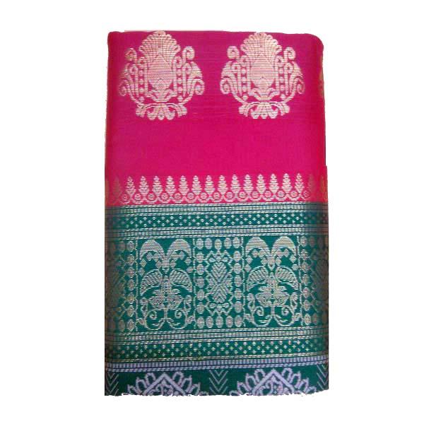 Hot Pink Saree