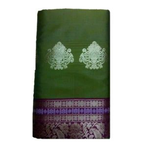 Work Olive Saree