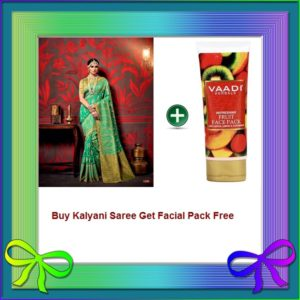 Fern Saree Get Facial Pack Free