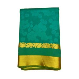 Work Teal Saree