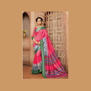 Work Ruby Saree