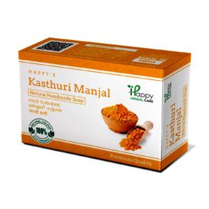 handmade kasthuri manjal