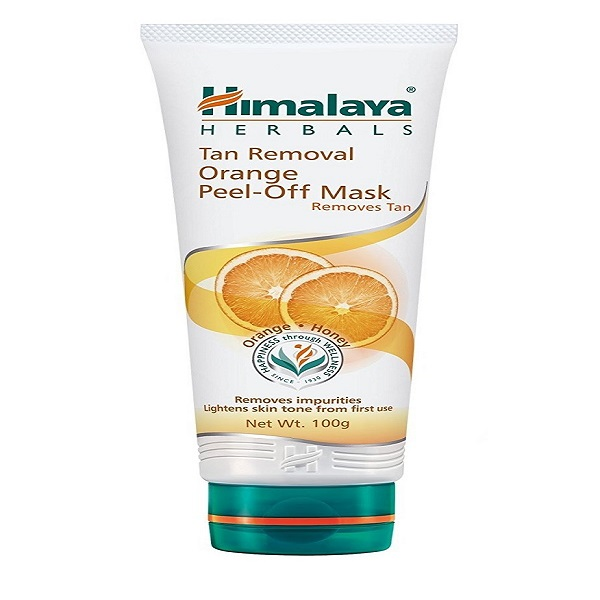 Face mask for tan removal